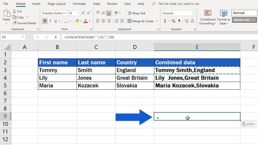 How to Copy And Paste Values Without Formula in Excel - copied formula