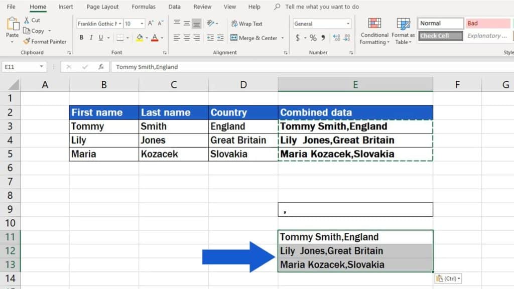 How to Copy And Paste Values Without Formula in Excel - only value copied
