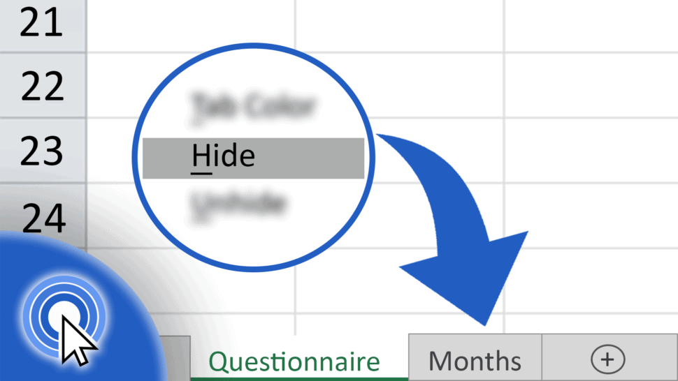 How to Hide Sheets in Excel