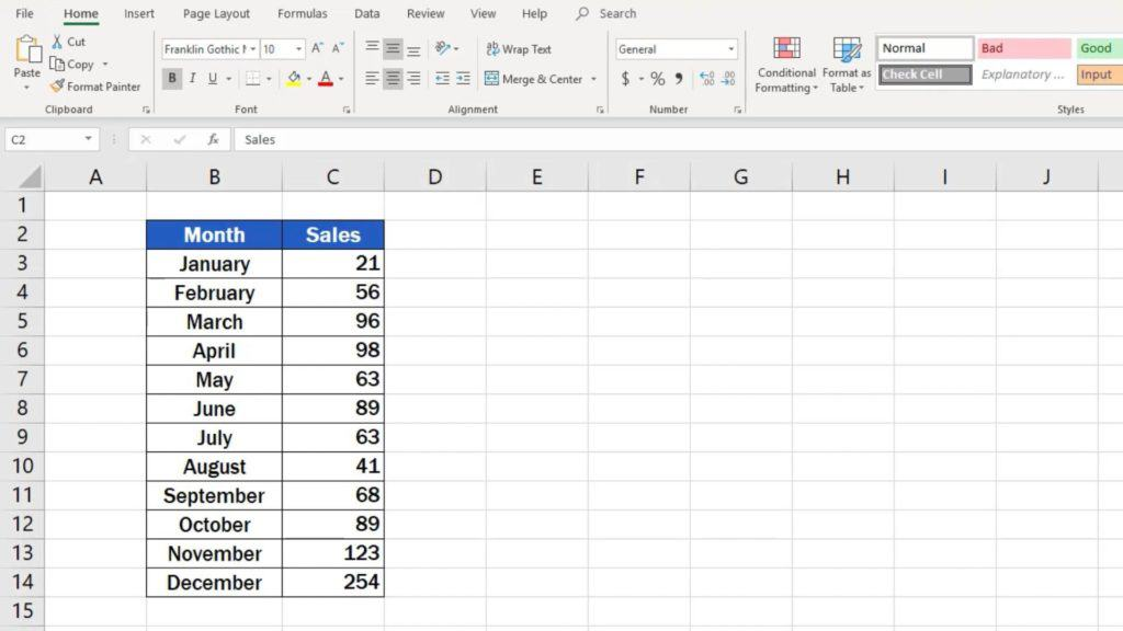 How to Make a Line Graph in Excel - graph data