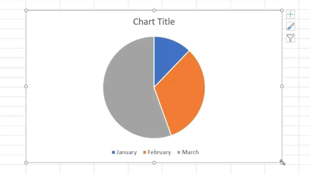 How to Make aPie Chart in Excel - adjust the size of the chart