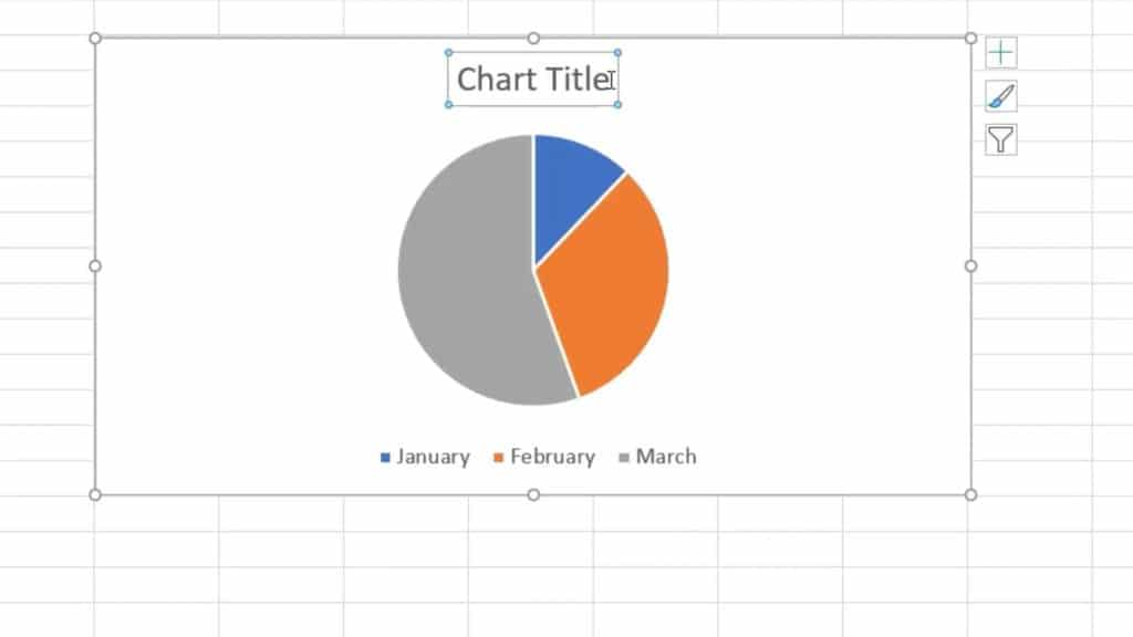 How to Make a Pie Chart in Excel - chart title