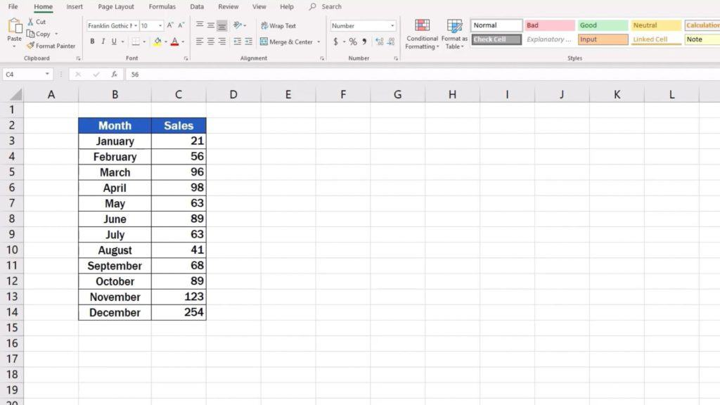 How to Make aPie Chart in Excel - graph data