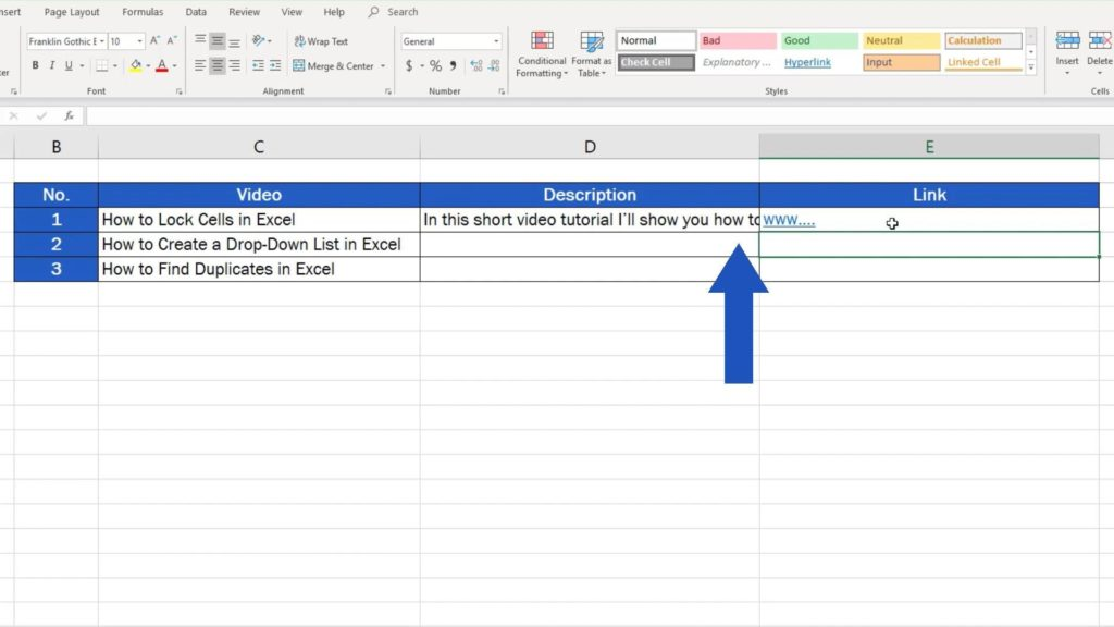 How to Wrap Text in Excel - adjust text into row