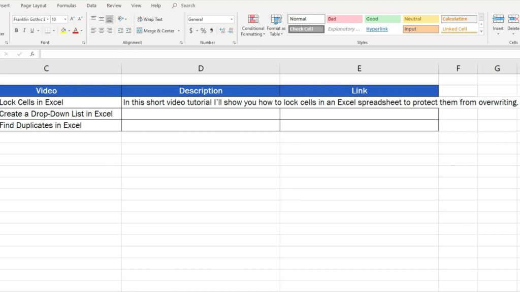 How to Wrap Text in Excel - wrap long text