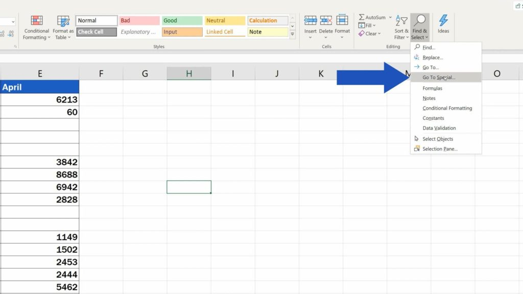 How to Remove Blank Rows in Excel - delete blank rows