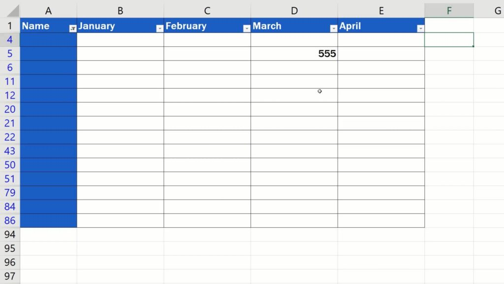 How to Remove Blank Rows in Excel - delete only blank cell without loosing data