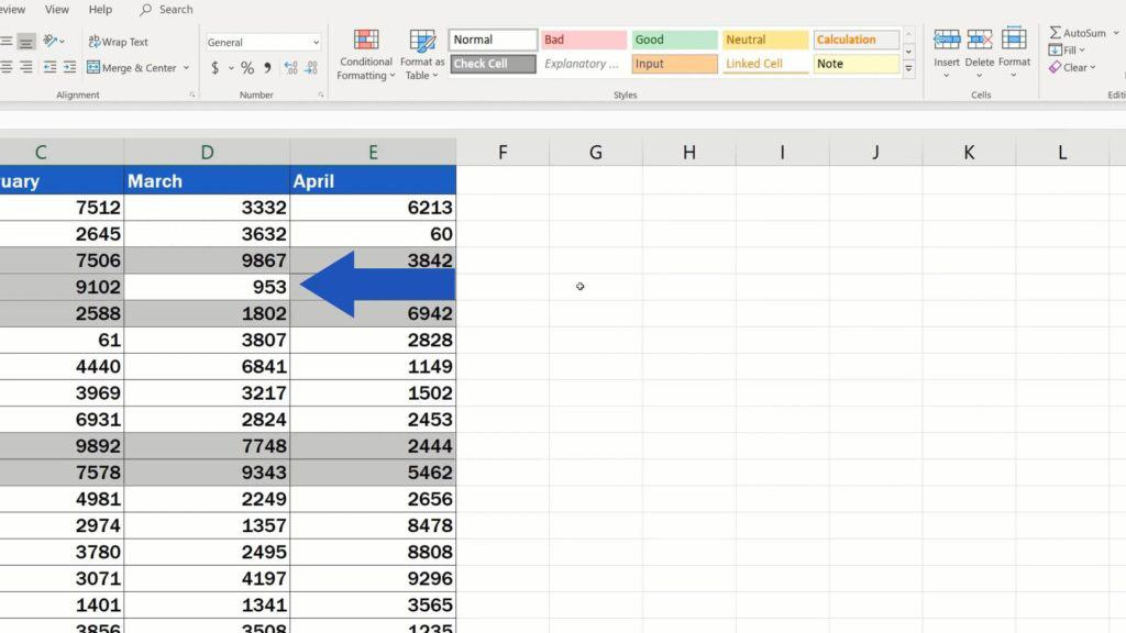 How to Remove Blank Rows in Excel - remove blank rows without loosing data