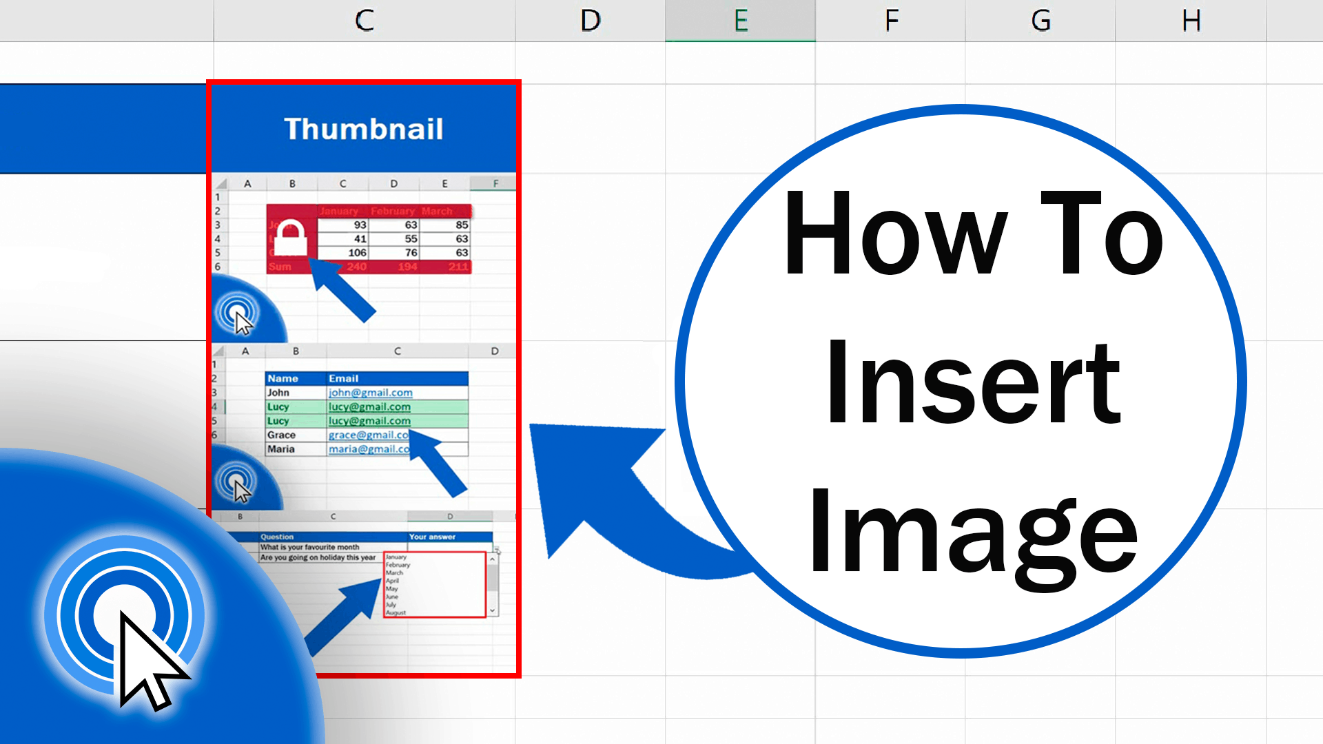 How to Insert Image in Excel Cell