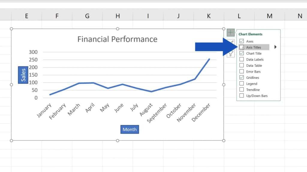How to Add Axis Titles in Excel - How to remove axis titles from graph in Excel