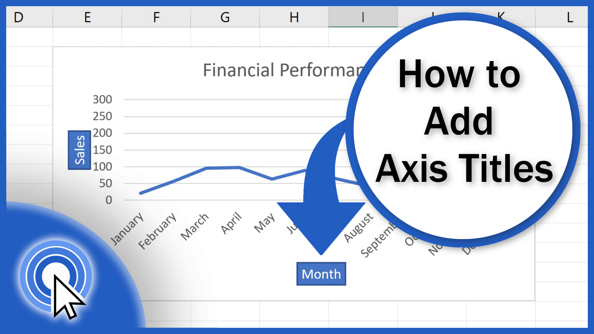 How to Add Axis Titles in Excel