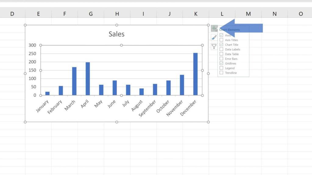 How to Add a Trendline in Excel - adding trendline in Excel