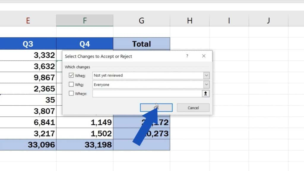How to Track Changes in Excel - how to monitor changes in Excel
