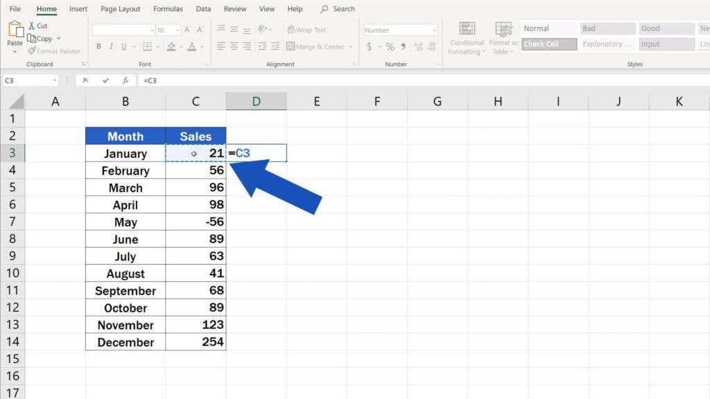 Try out Data Bars in Excel for clear graphical data representation - place data bars in separate column