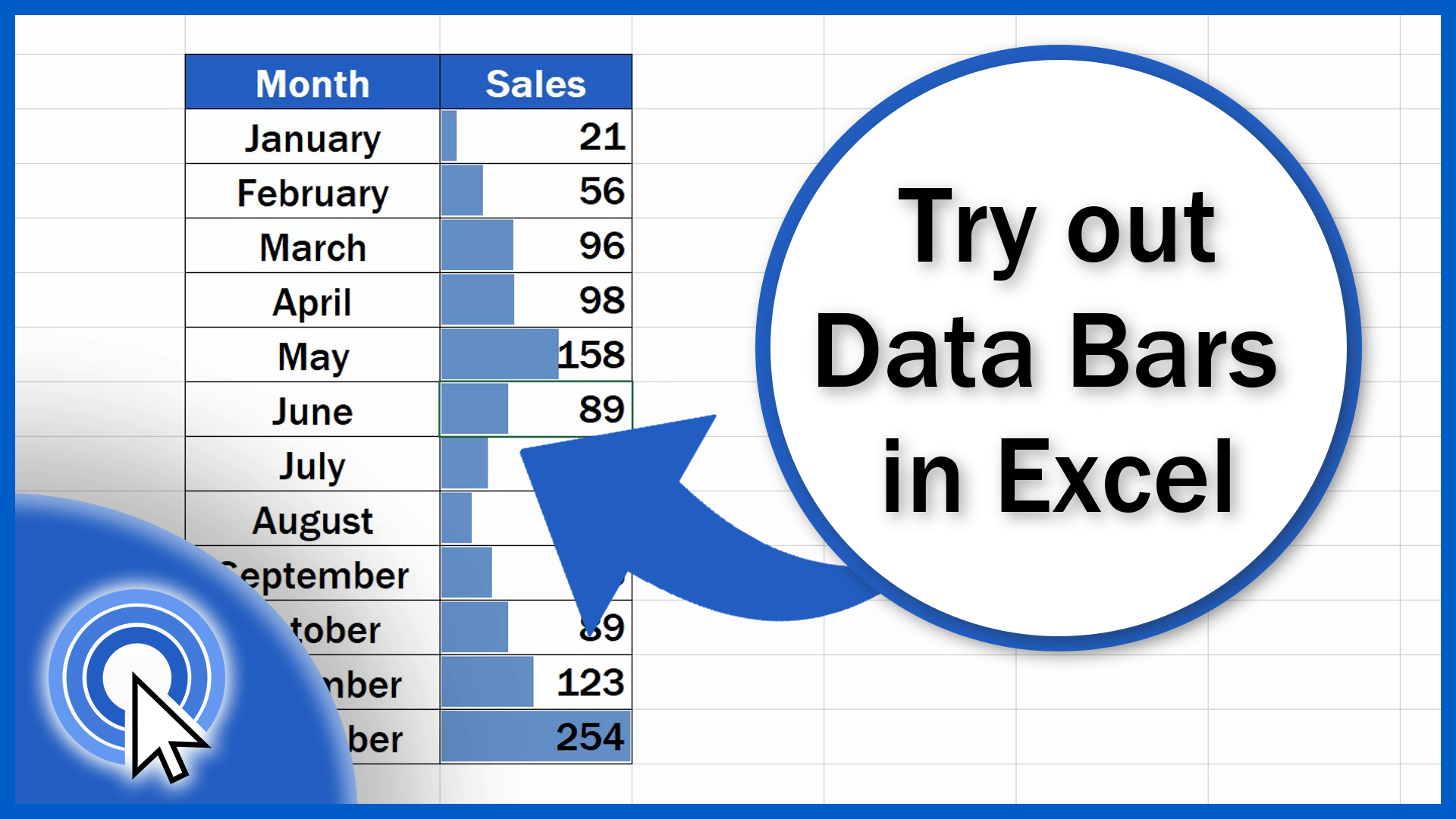Try out Data Bars in Excel to See Your Data Visually