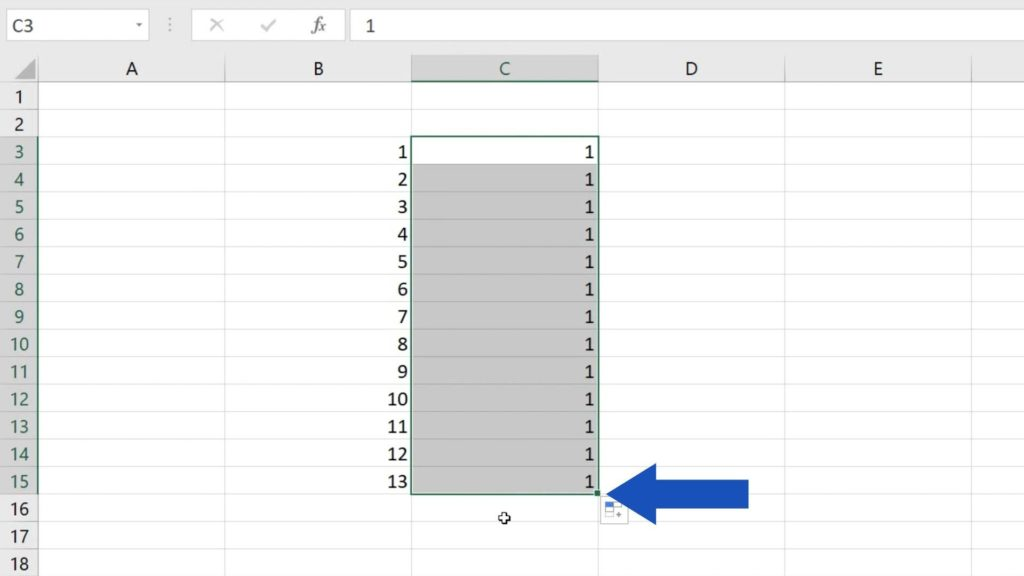 How to Use AutoFill in Excel - autofill function in Excel