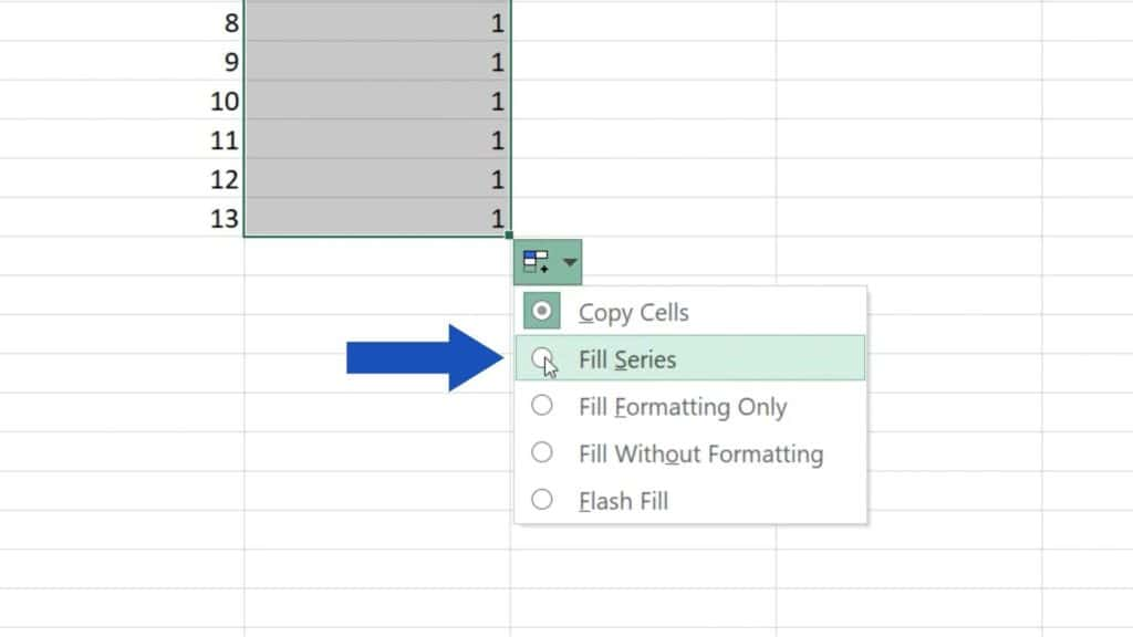 How to Use AutoFill in Excel - using of autofill in Excel