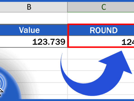 How to ROUND Numbers in Excel