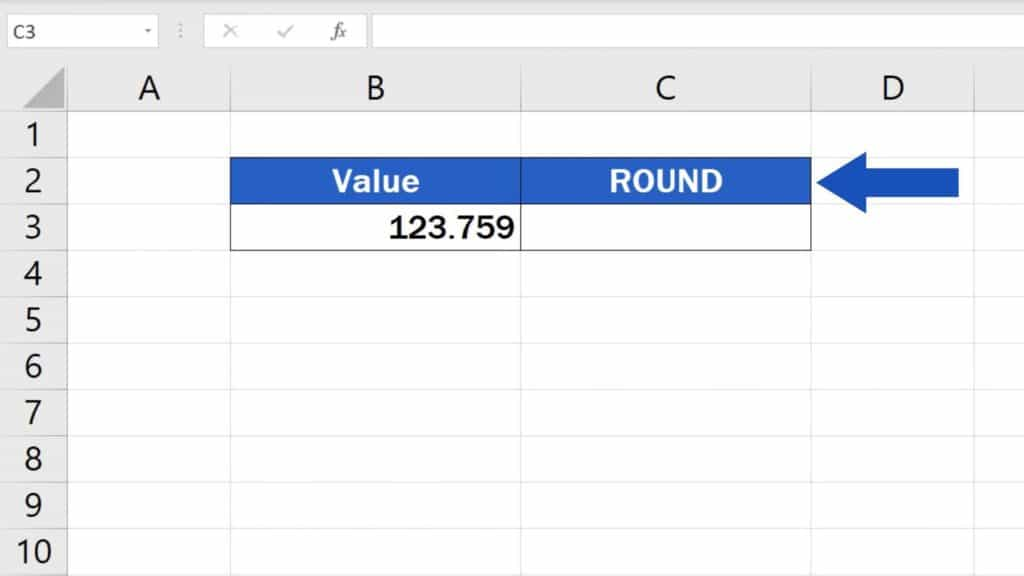 How to ROUND Numbers in Excel - Round