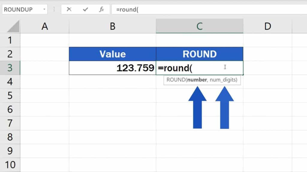 How to ROUND Numbers in Excel - two things