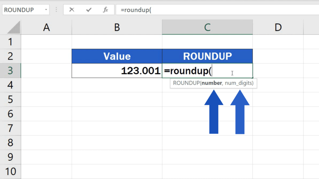 ROUNDUP - we'll need to include two things