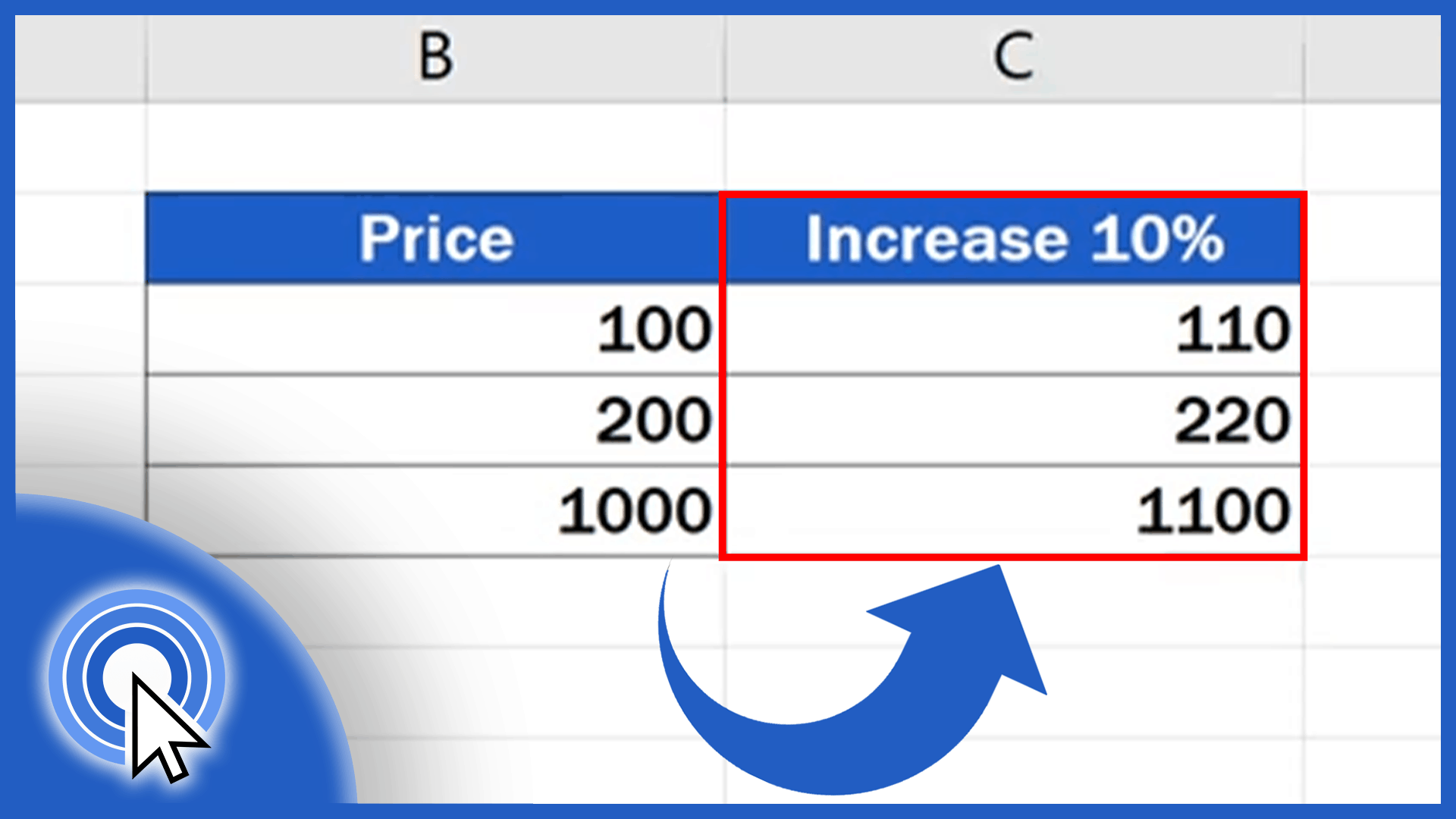 How to Calculate Percentage Increase in Excel - Thumbnail - AJ