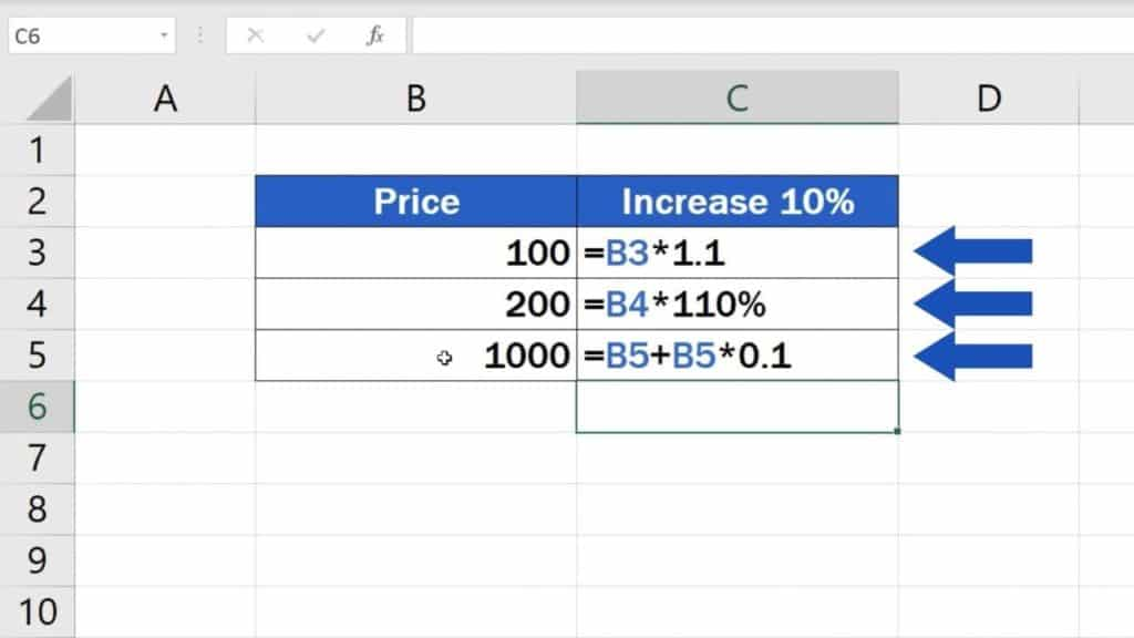 How to Calculate Percentage Increase in Excel - All three ways how to calculate percentage increase