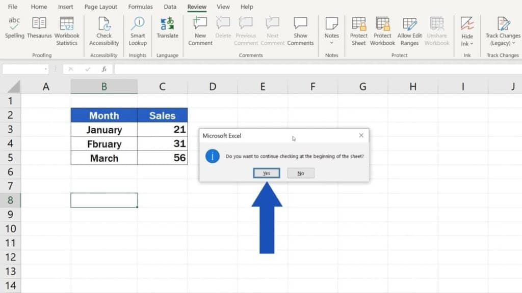How to Check Spelling in Excel and Avoid Typos - How to find and use the spellchecker