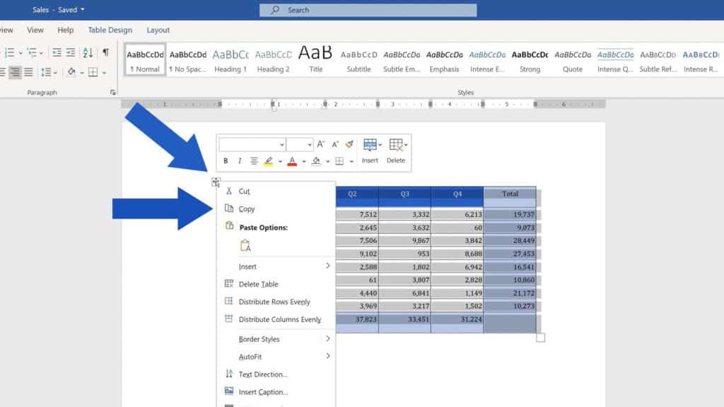 How to Convert PDF to an Excel File - Copy the Table