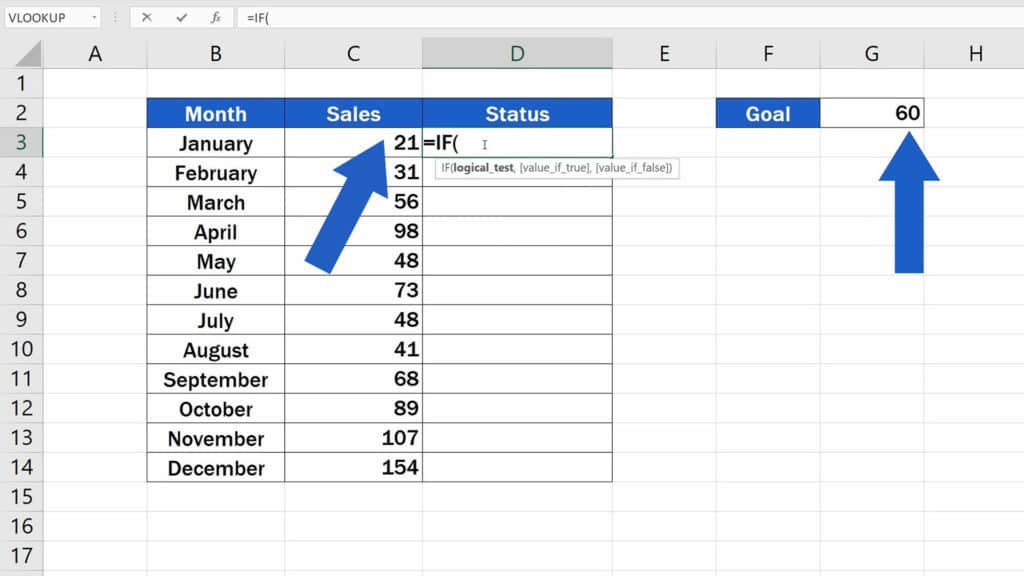 How to Use IF Function in Excel - Compare