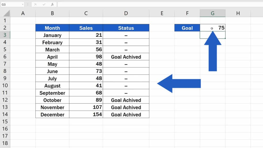 How to Use IF Function in Excel - dynamic function
