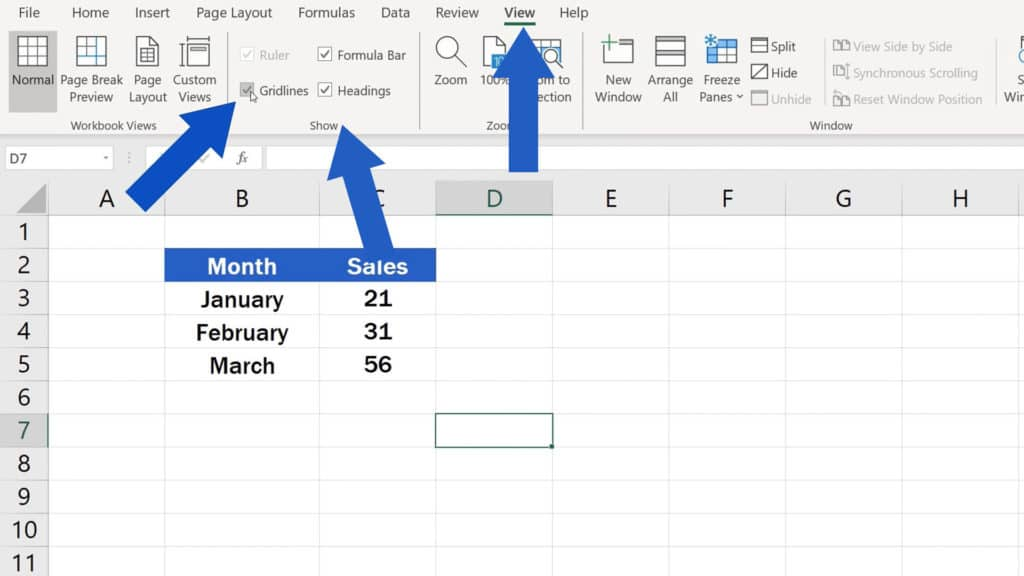 How to Hide Gridlines in Excel - How to Hide Gridlines in the Whole Spreadsheet