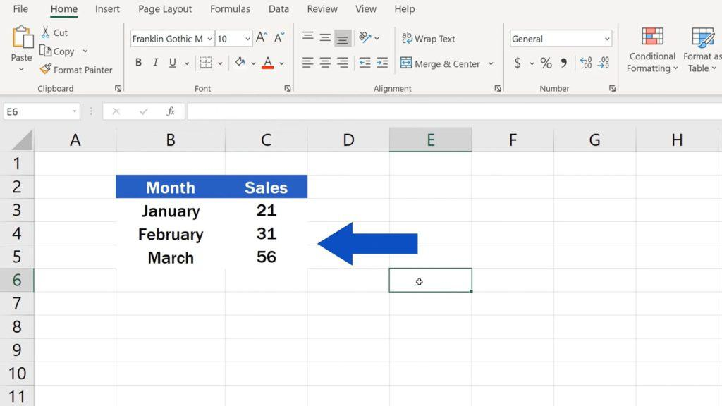 How to Hide Gridlines in Excel - No Gridlines in a Selected Area