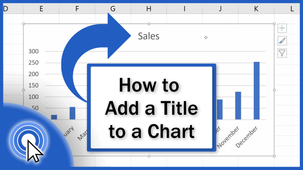 How to Add a Title to a Chart in Excel