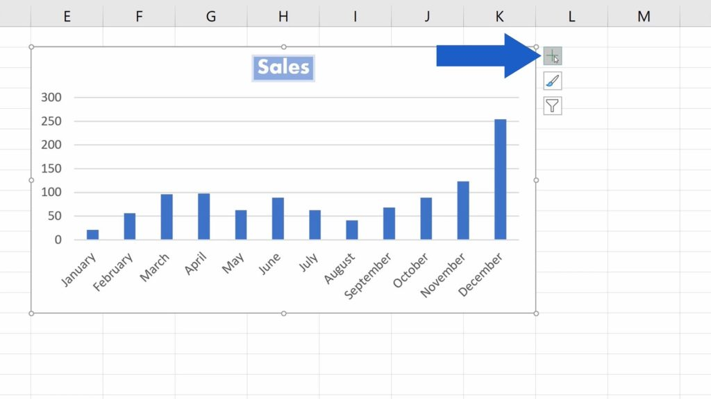 How to Add aTitle to aChart in Excel  - Remove the Chart Title
