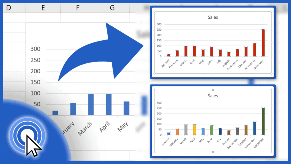 How to Change Chart Color in Excel