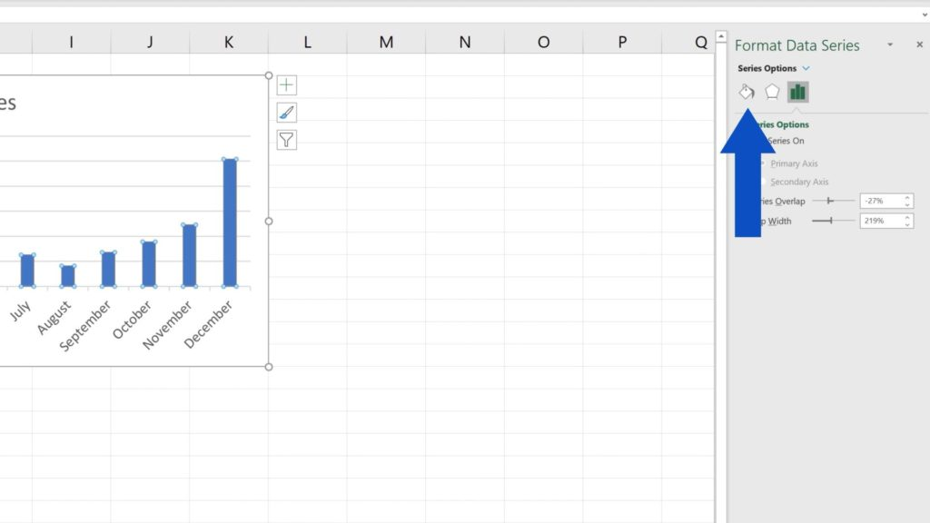 How to Change Chart Colour in Excel -Chart Color