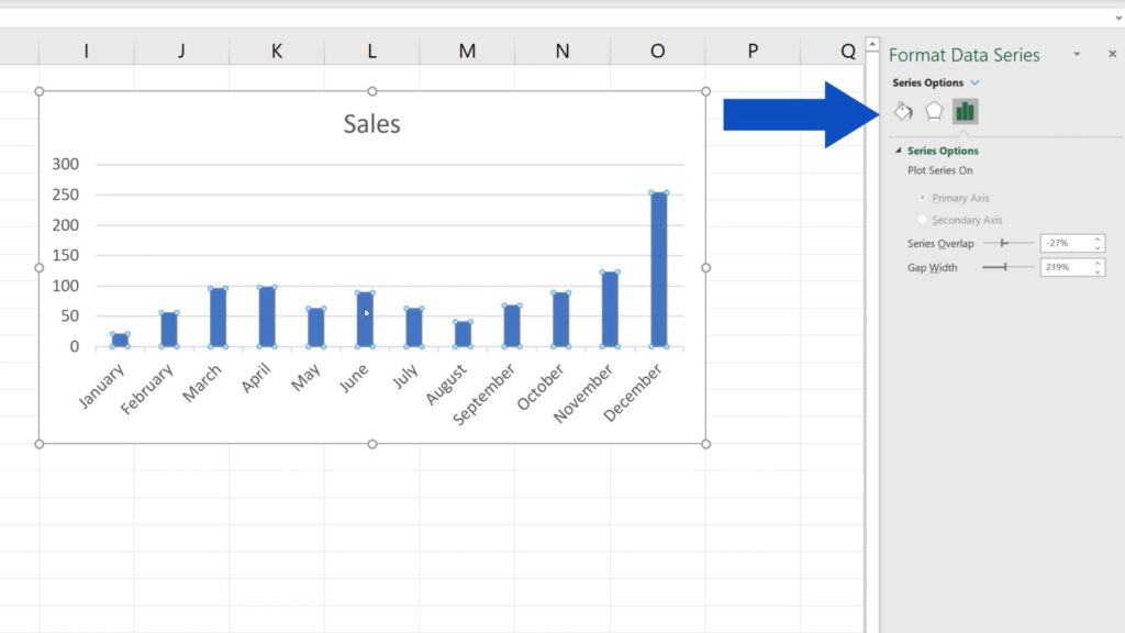 How to Change Chart Colour in Excel - Format Data Series