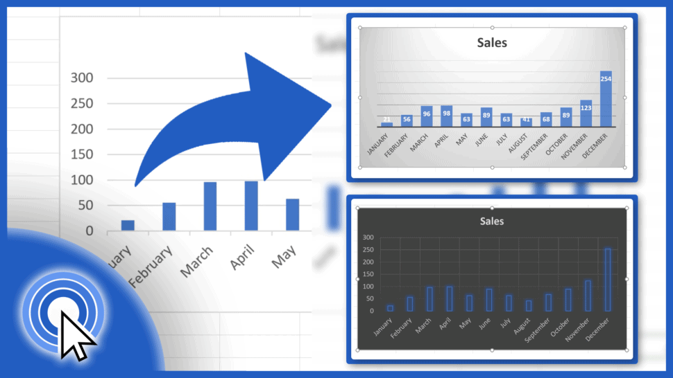 How to Change Chart Style in Excel