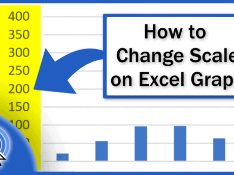 How to Change Scale on Excel Graph