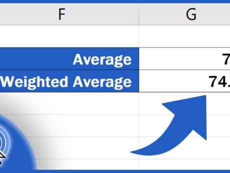 How to Calculate Weighted Average in Excel