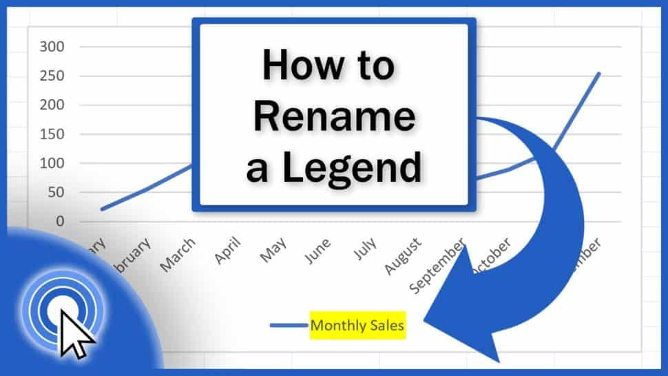 How to Rename Legend in Excel Graph