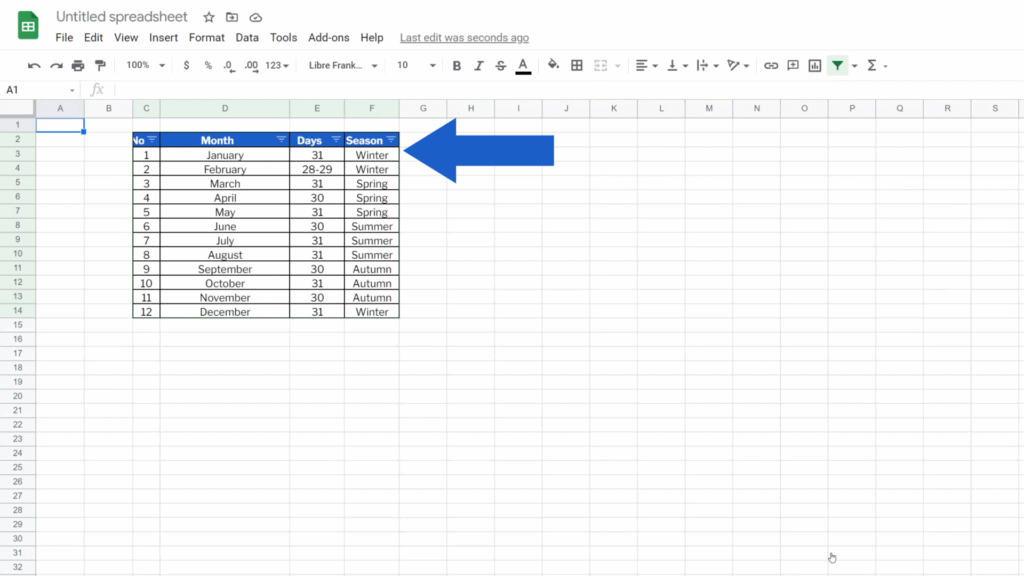 How to Convert Excel to Google Sheets - converted to google sheets