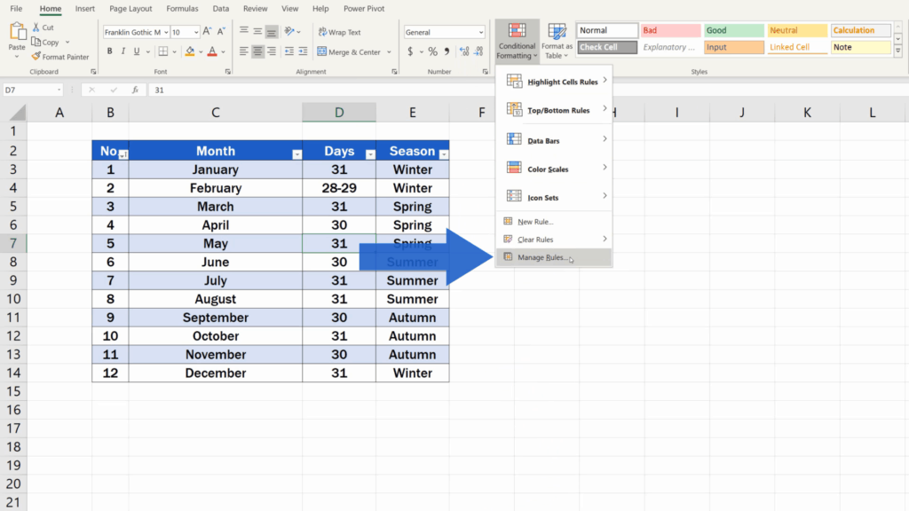 How to Highlight Every Other Row in Excel - How to Highlight the Even Rows