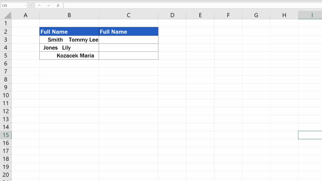 How to Remove Spaces in Excel - remove only the leading and trailing spaces and redundant spaces