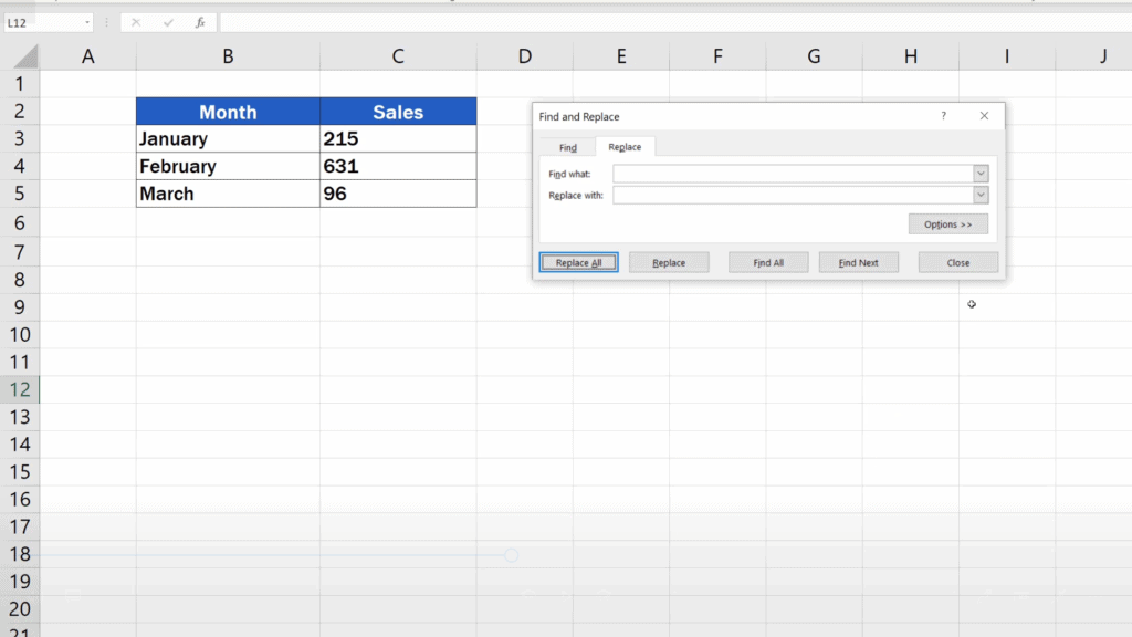 How to Remove Spaces in Excel - spaces removed