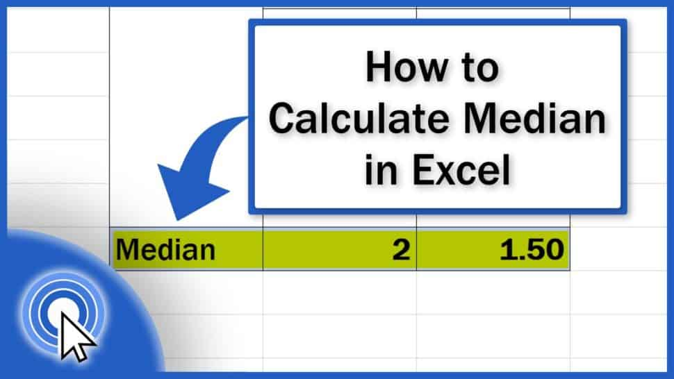 How to Calculate Median in Excel