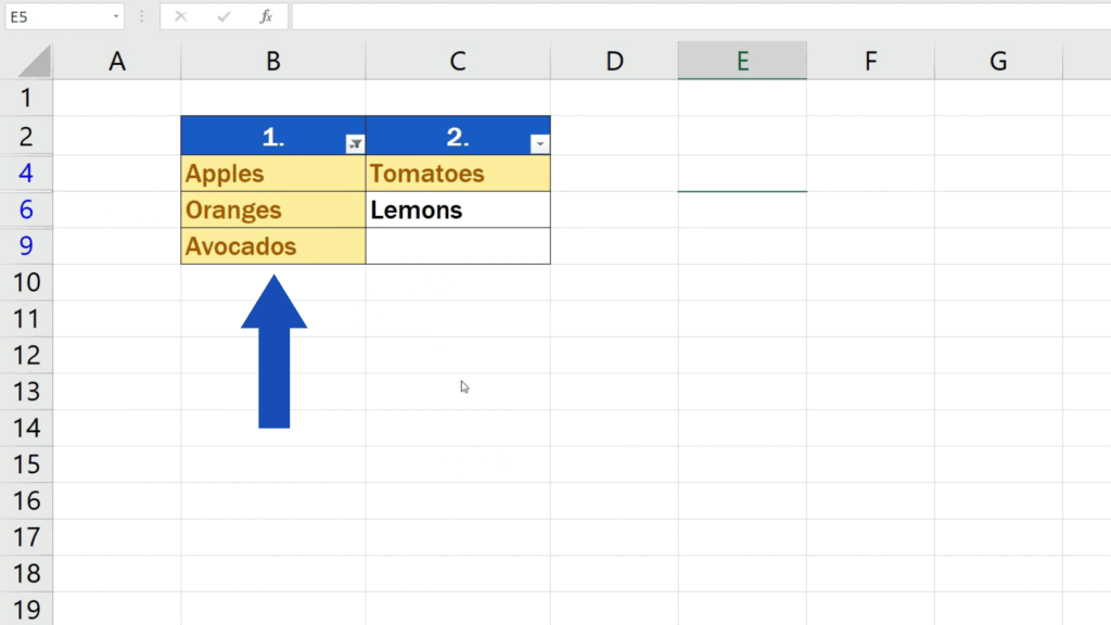 How to Compare Two Columns in Excel to Find Differences - to display only the unique values in the first column
