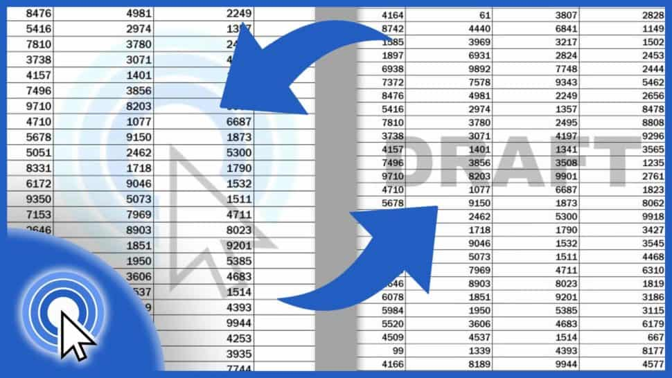 How to Insert aWatermark in Excel