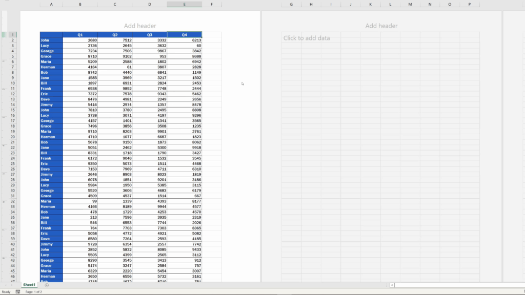 How to Insert aWatermark in Excel -  The watermark's gone